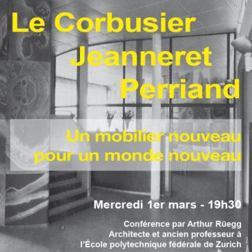 Le Corbusier, Jeanneret, Perriand : un mobilier nouveau pour un monde nouveau