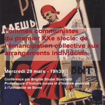 Femmes communistes du premier XXe siècle: de l'émancipation collective aux arrangements individuels