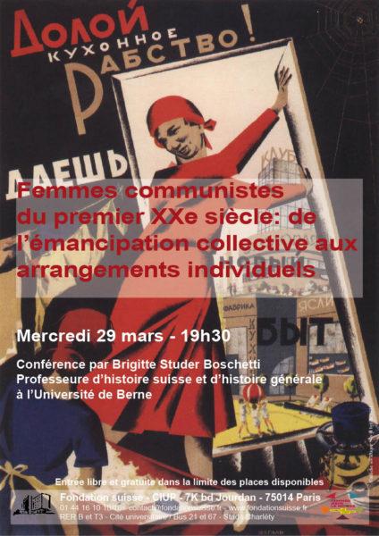 Affiche Brigitte Studer