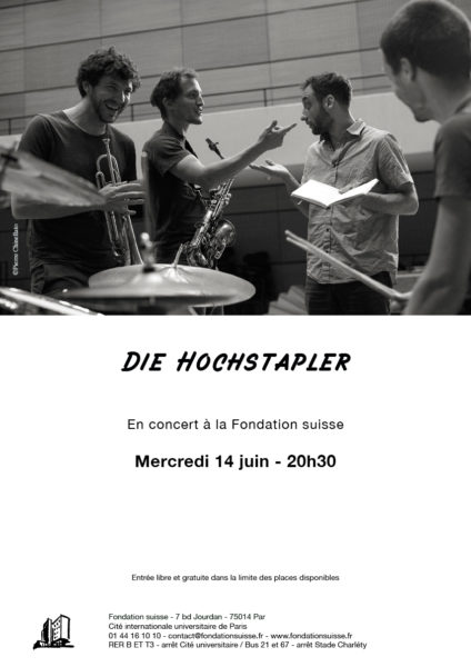 Affiche concert Die Hochstapler