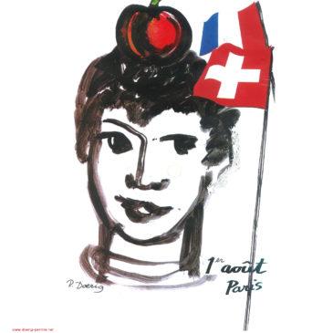 Fête du 1er août à Paris