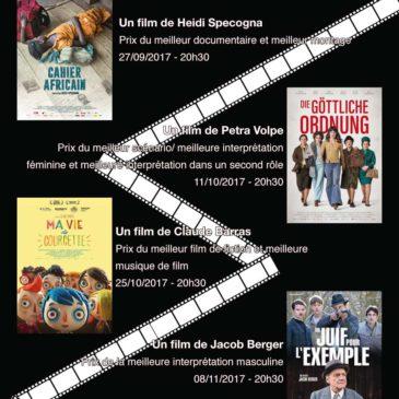 Prix du cinéma suisse 2017