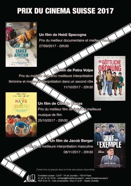 Affiche Prix du cinema suisse.indd