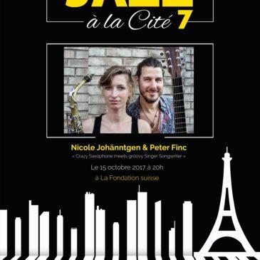 Nicole Johänntgen & Peter Finc / Crazy Saxophone meets groovy Singer Songwriter