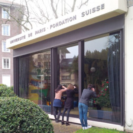 Closure of the Fondation suisse for renovation works