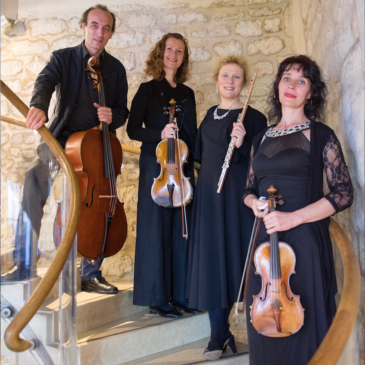 Concert du Quatuor Hélios – Blaise Ubaldini